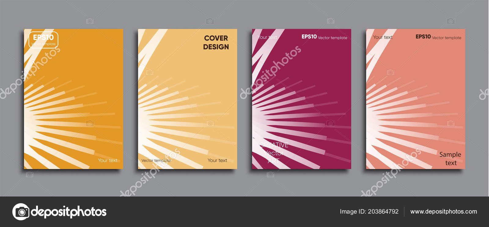 creative colored cover cover design stock vector batyisanyi