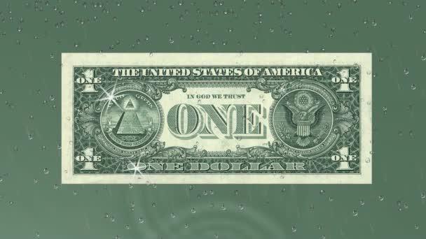 dollar money note success green