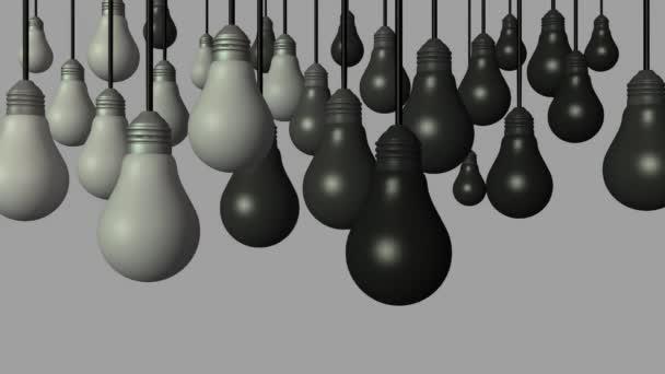 inovace idea tvořivost žárovka