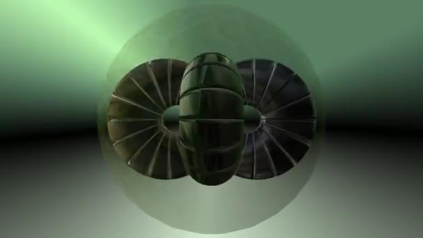 Larven Kokon Sci-Fi-Parasit