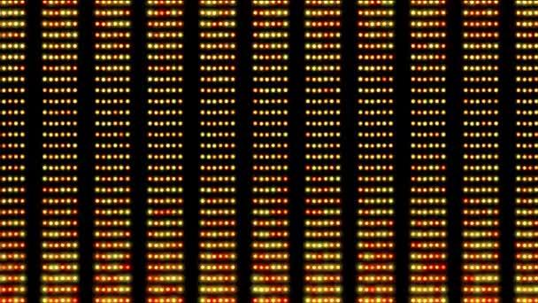 LED světla vzor návrhové zobrazení