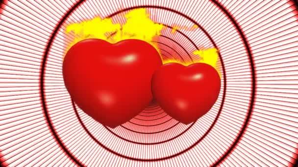 láska romantické Valentýna přírodní