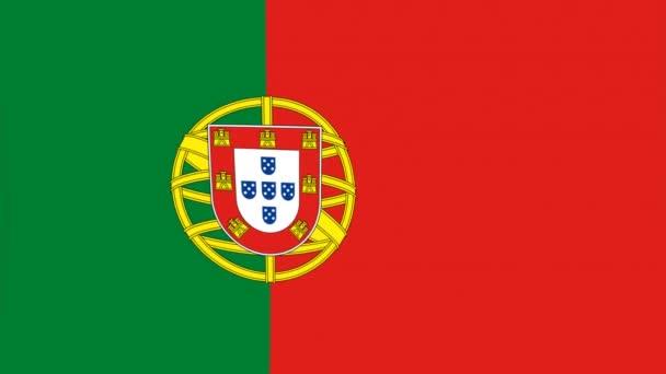 videó a Portugália lobogója alatt ország