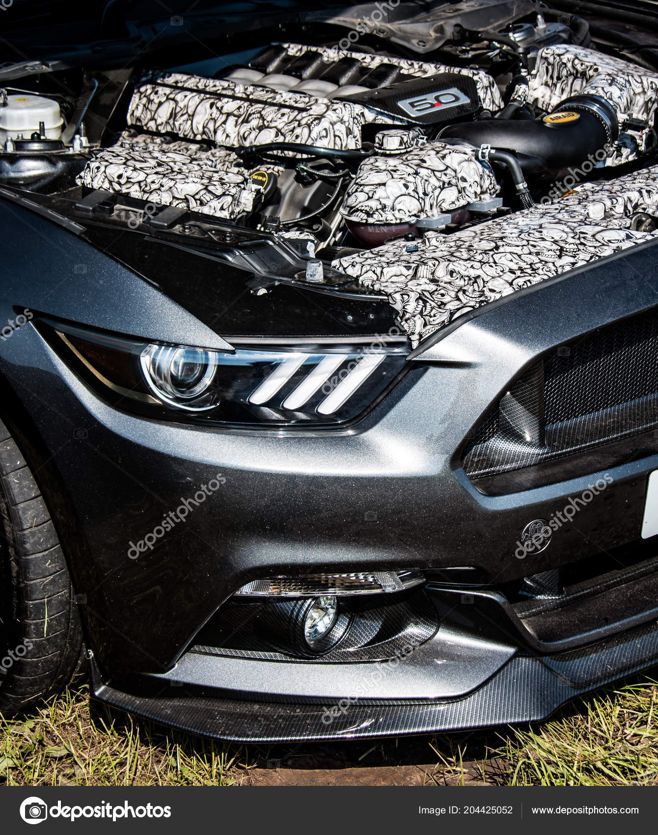 Modern Ford Mustang Muscle Car Stock Editorial Photo C Tobyparsons