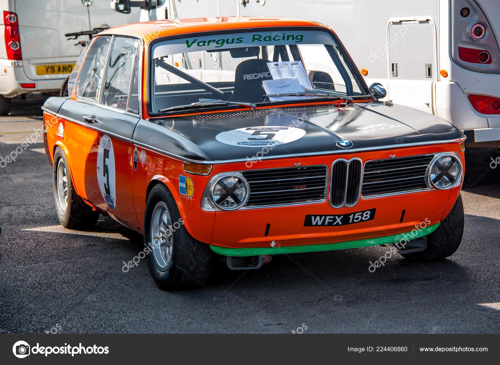 Orange Classic Bmw 2002 Racing Car Stock Editorial Photo C Tobyparsons 224406860