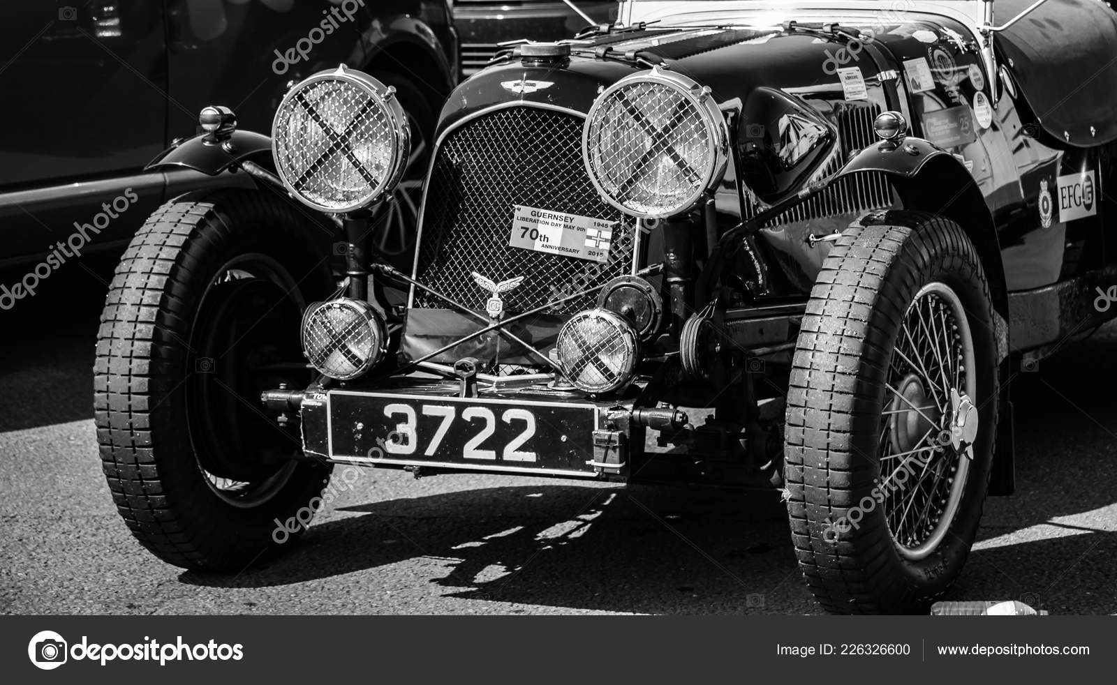 Front Classic Aston Martin Racing Car Stock Editorial Photo C Tobyparsons 226326600