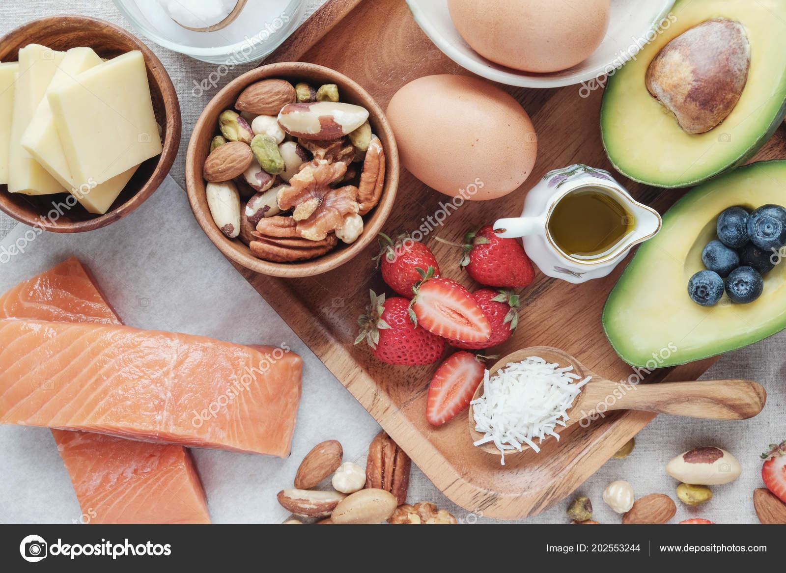 Keto Dieta Ketogeniczna Niskoweglowodanowej Wysoki Dobry Tluszcz