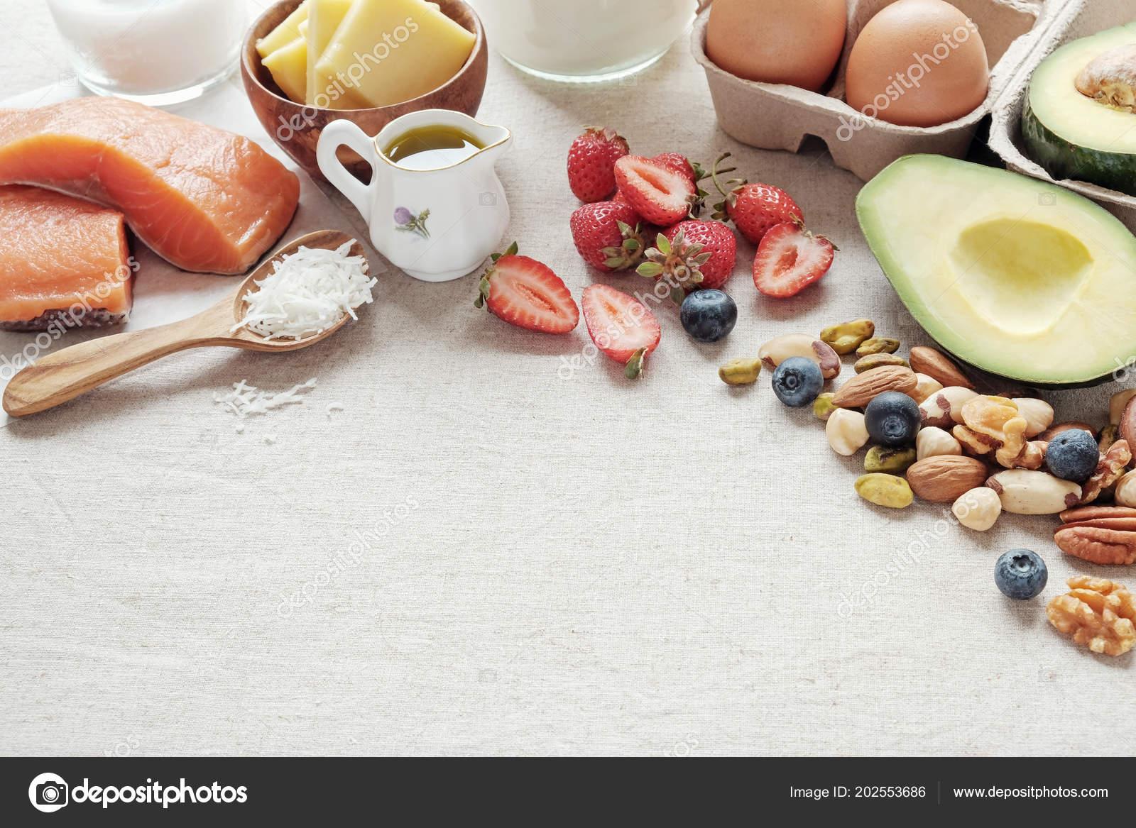 Dieta baja en carbohidratos y alta en grasas saludables