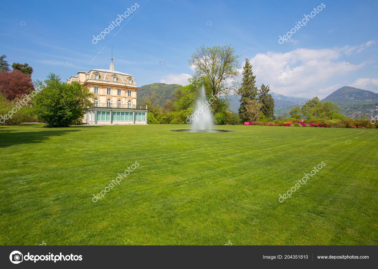 Villa Jardín Botánico Villa Taranto Pallanza Verbania Italia — Fotos ...