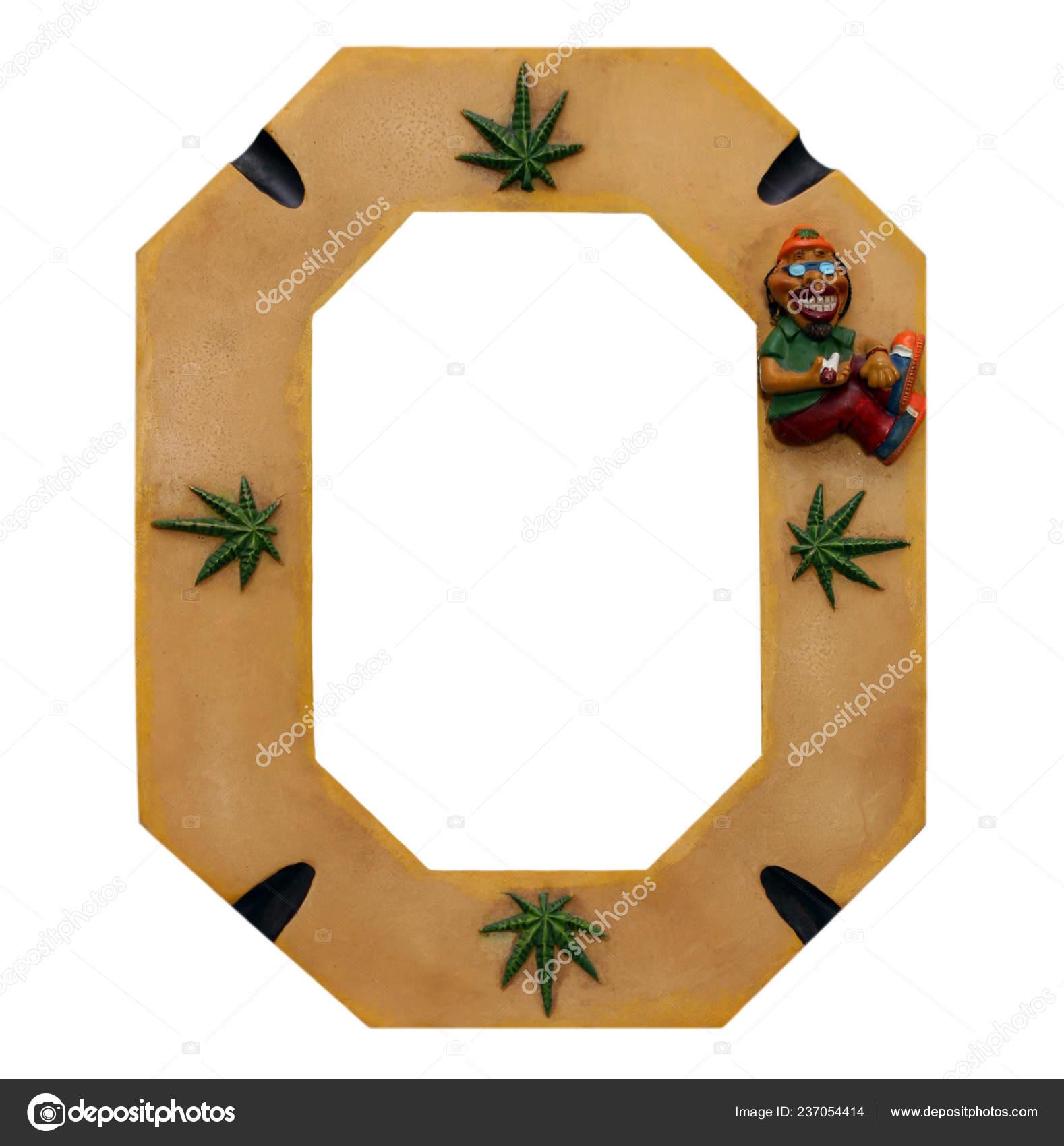 Cadre Photo Drole Cannabis Isole Sur Blanc Photographie Antoniogravante C 237054414