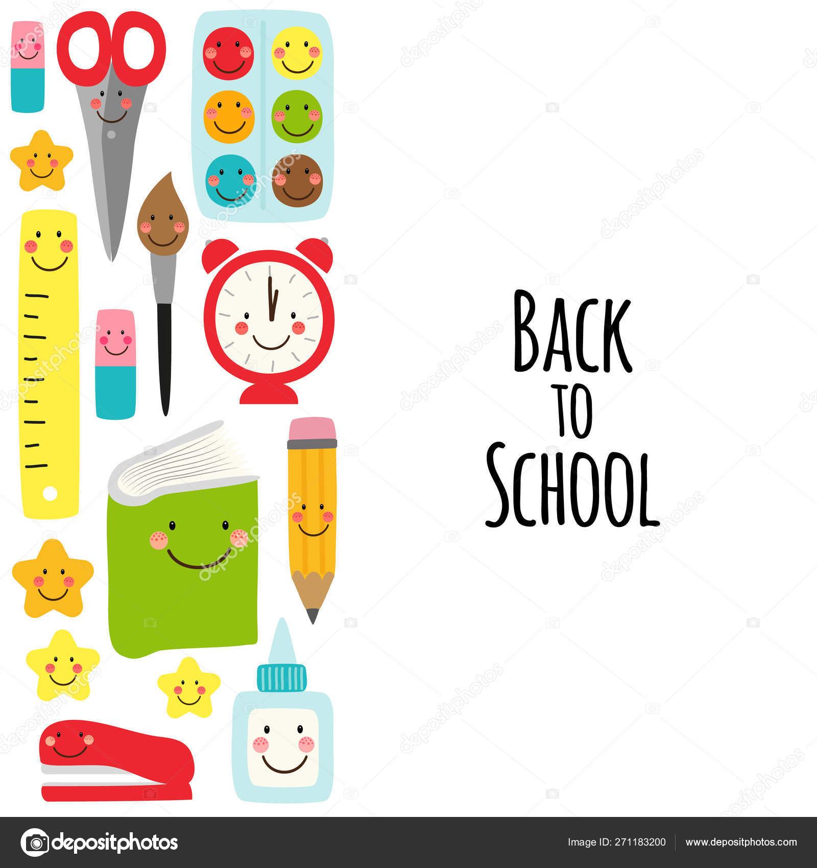 Volta Bonito Ao Projeto Da Bandeira Da Escola Com Os Carateres