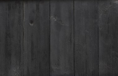 Black wood background Old wood wall surface