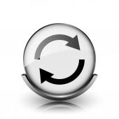 znovu načíst dvě šipky ikona