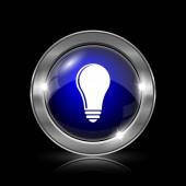 žárovka - myšlenka ikonu