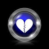 ikona zlomené srdce