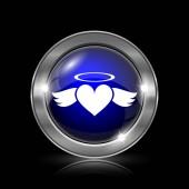 ikona angel srdce