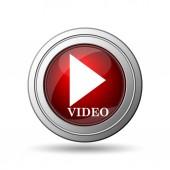 přehrávat video ikona