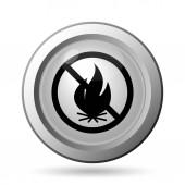 Tűz tiltott ikon