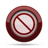 Tiltott ikon
