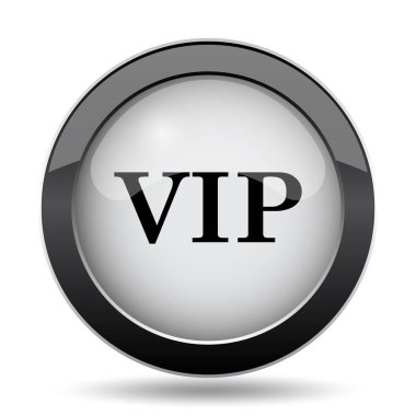 VIP icon. Internet button on white background
