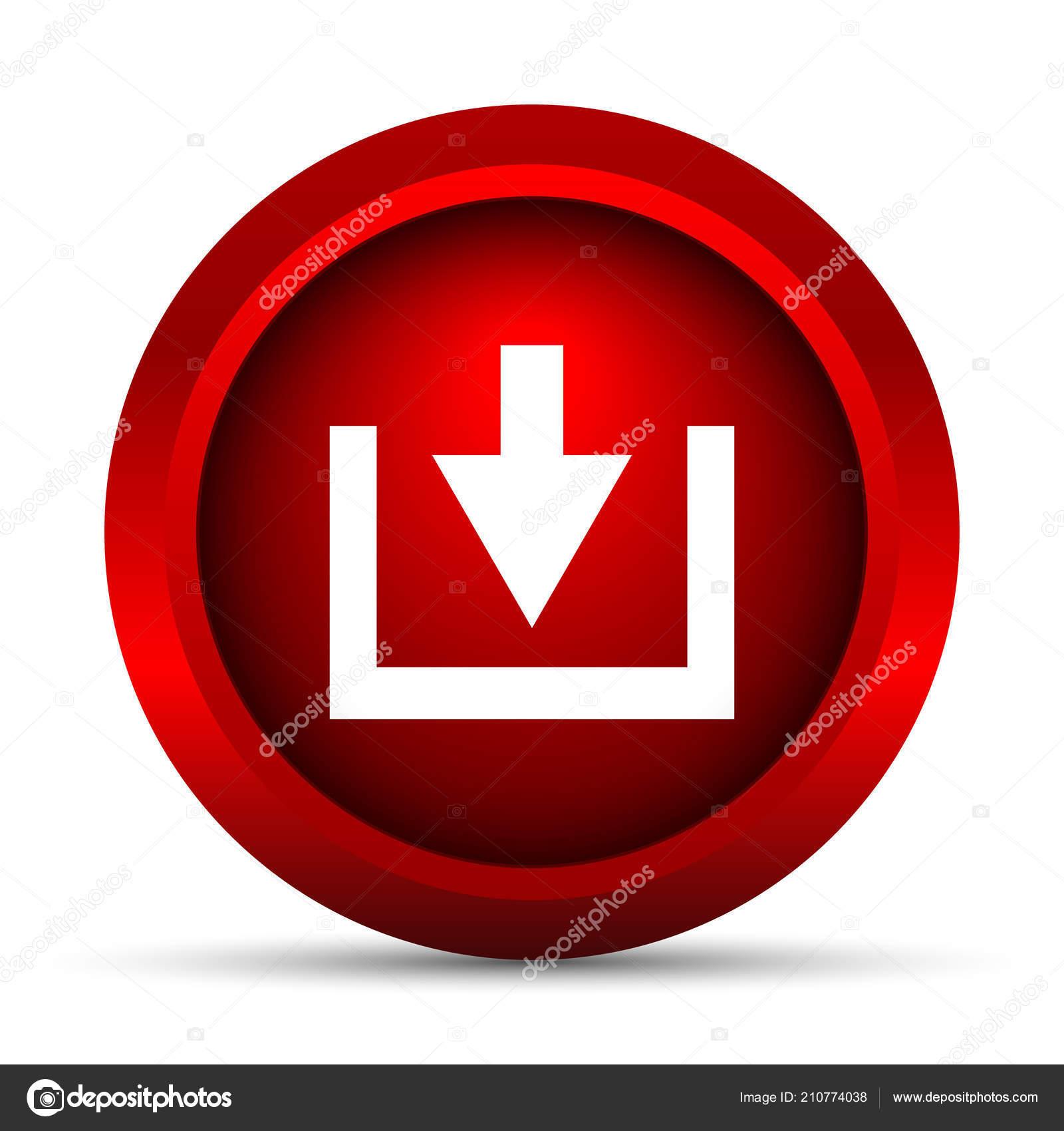 1950158ef56c5 Descargar Icono Botón Internet Sobre Fondo Blanco — Fotos de Stock ...