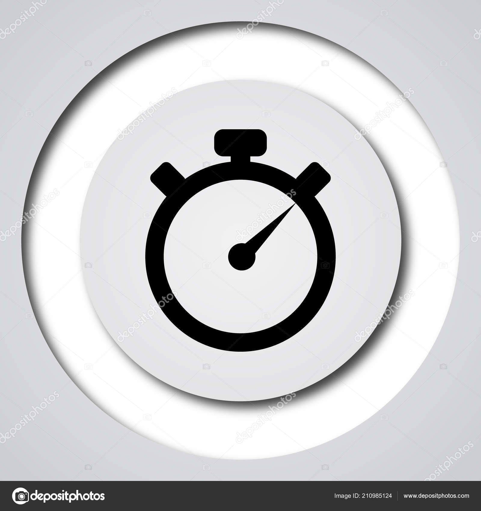 Timer icon — Stock Photo © valentint #210985124