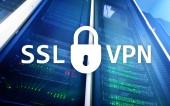 Fotografie SSL VPN. Virtual private network. Encrypted connection.