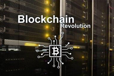 Blockchain revolution, innovation technology in modern business.Blockchain revolution, innovation technology in modern business.