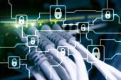 Blochain šifrování informací. Kybernetická bezpečnost, šifrování měny.