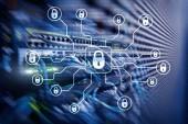 Fotografie Kybernetická bezpečnost, ochrana údajů, ochrana osobních údajů. Internet a technologie koncept