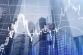 Forex obchodování, finanční trh, investiční koncepci na obchodní centrum pozadí