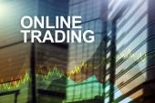 Online obchodování, Forex, investiční a finanční trh koncept.
