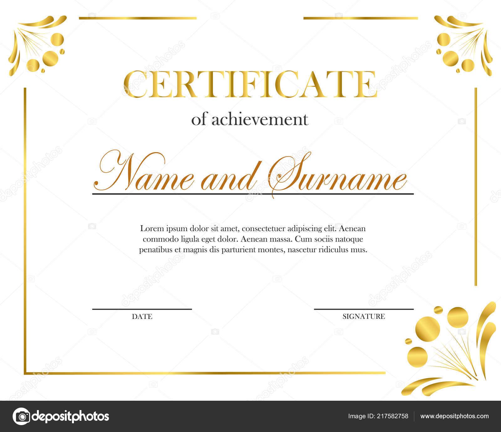 Creative Certificate Diploma Frame Diploma Certificate Certificate