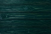 Fotografie top view of green wooden planks surface for background