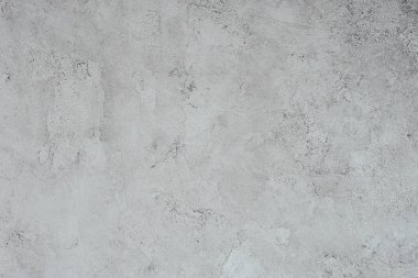 Top view of grungy white concrete wall for background stock vector