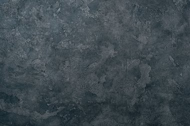 top view of grungy dark concrete wall for background