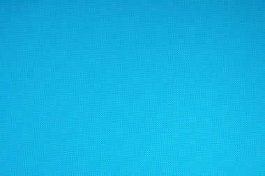 Top view of blue surface with tiny white polka dot pattern for background stock vector