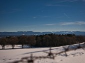 Winterpanorama am Starnberger See