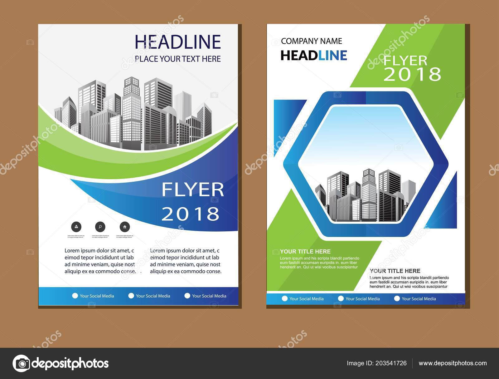 design cover book brochure flyer layout annual report business