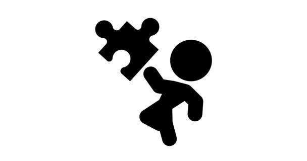 Opakovat animaci ikony s puzzle