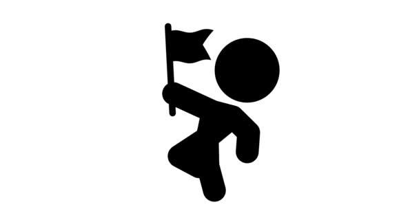 Hurok élénkség zászló ikon