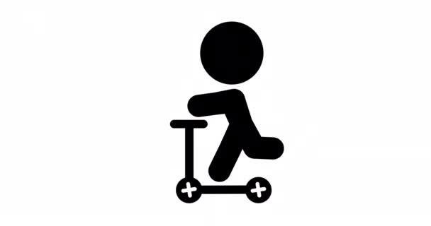 Hurok animáció ikon, Jet-ski vezetés