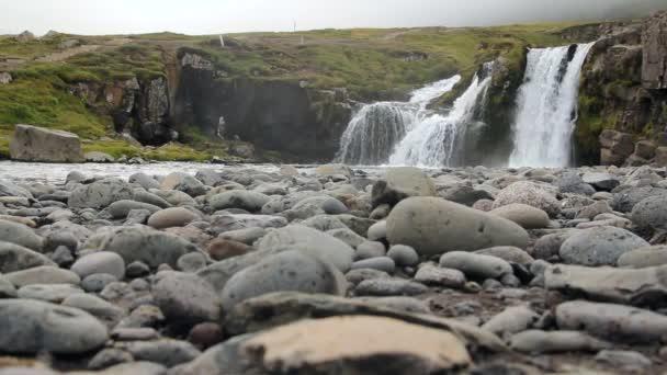 Příroda vodopád potok.