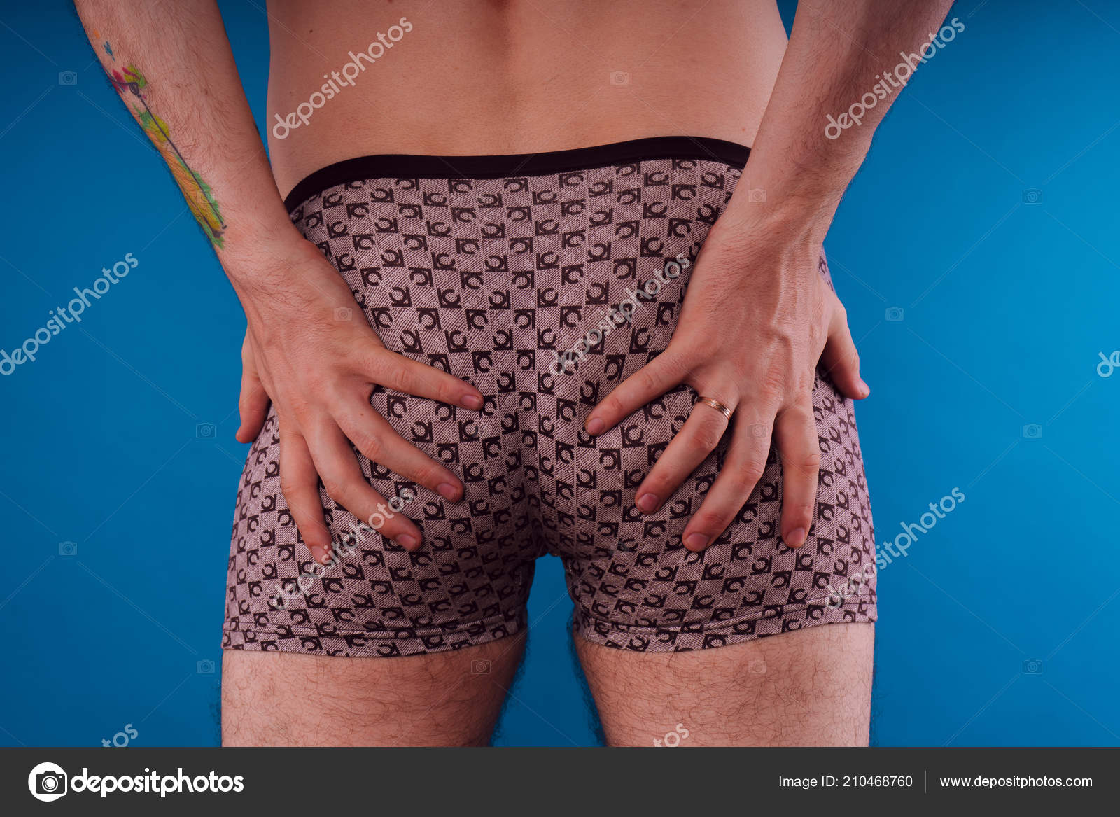 Body Parts Men Ass Underwear Inflated Buttocks Boxer Shorts ...