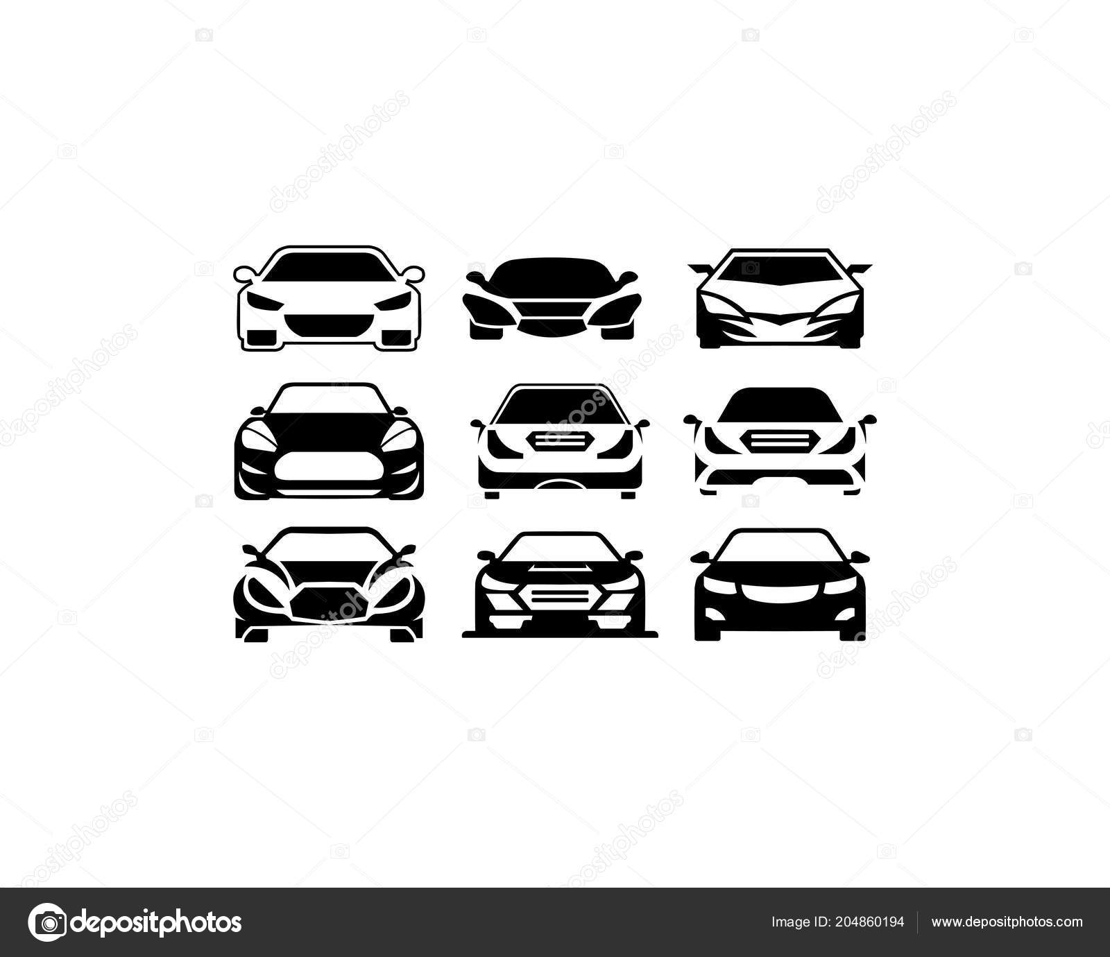 Car Silhouette Vector Sport Car Silhouette Vector Stock Vector
