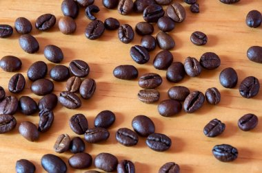 the peas and coffee beans are used to design, marketing, advertising