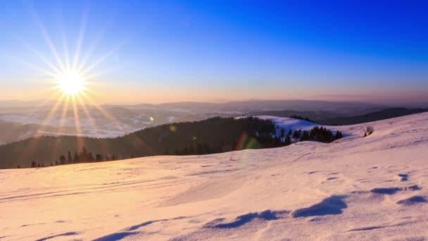 horská Zimní krajina