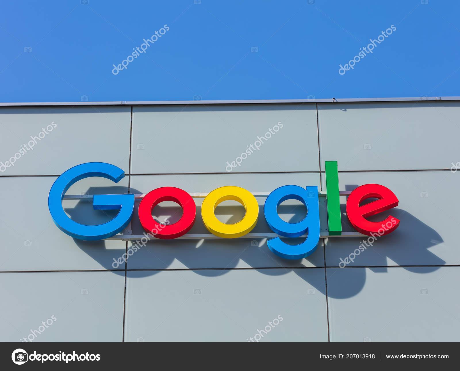 チューリッヒ スイス 2016 google の事務所ビルの壁にサイン google