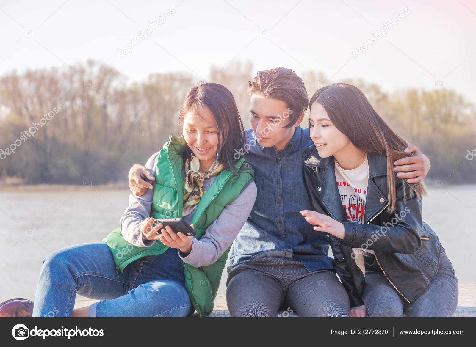 Asian Teens Homework High Resolution Stock Photography and Images ... | 1167x1600