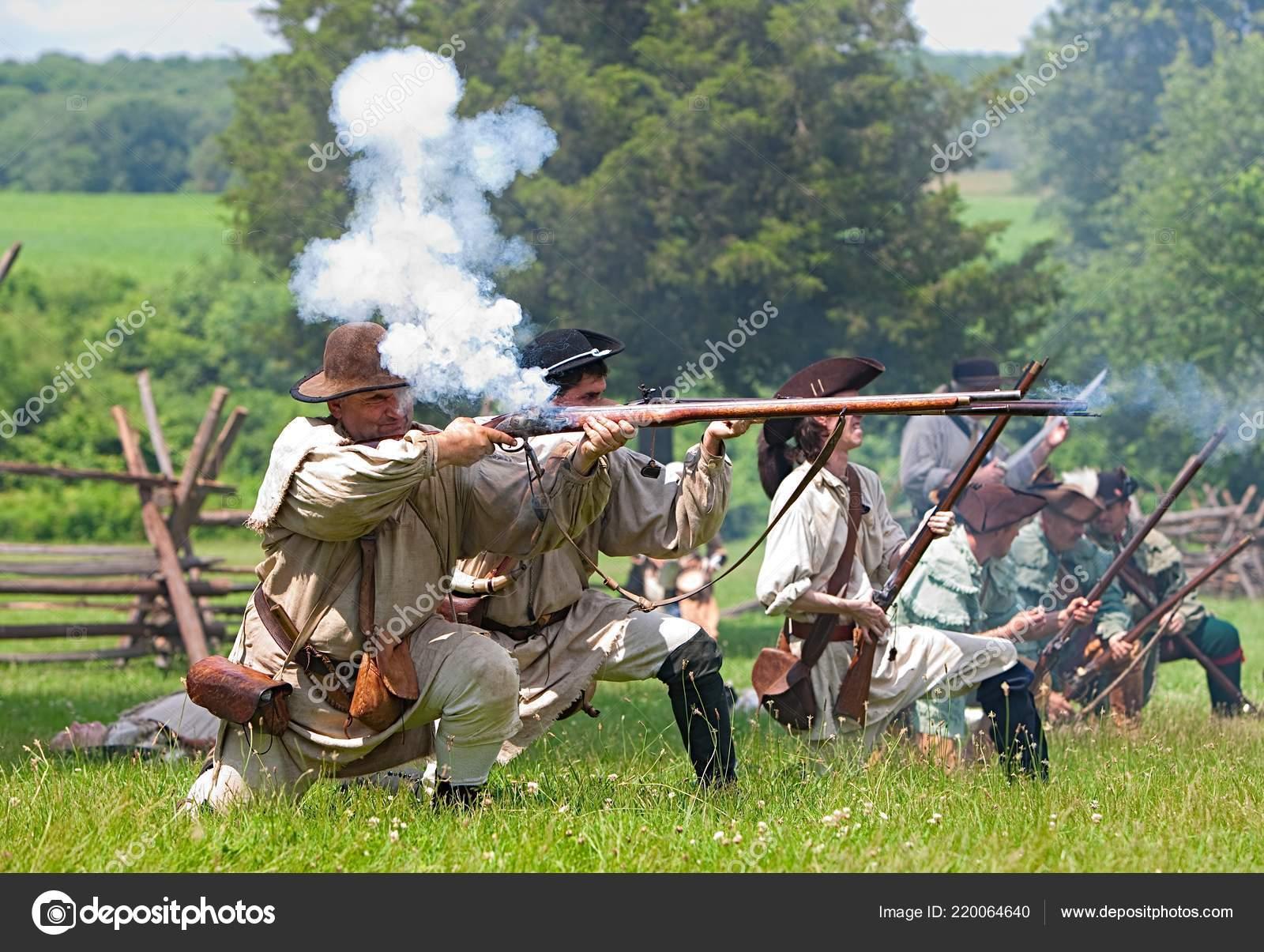 Revolutionary War Reenactment Annual Reenactment Battle